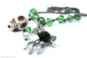 Image of Absinthe Drops Necklace