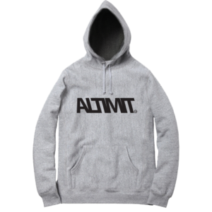 Image of OG Logo Hoodie - Heather Grey