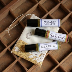 Image of Mama's Garden Perfume Oil Set