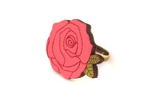 Image of Pink Rose Ring