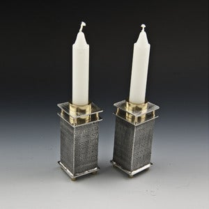 Image of Candle Holders with Prayer