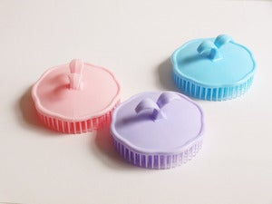 Image of Round Soft Plastic Comb