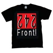 Image of FRONT 242 SHIRT/ Never Stop-NEW