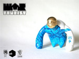 Image of Blue Samurai - War Tourist custom by Mister Lister