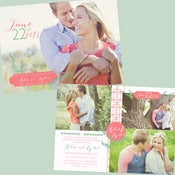 Image of Vines Wedding invitation
