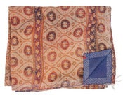 Image of Ralli Quilt Tan/Purple