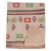 Image of Ralli Quilt Cream/Purple