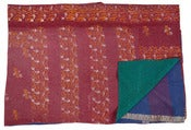 Image of Ralli Quilt Purple, Red, Turquoise