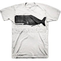 Image of THE GREAT WHALE pre-order tee shirt