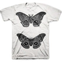 Image of THE EMPEROR MOTH pre-order tee shirt