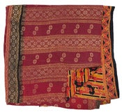 Image of Ralli Quilt Red and Orange