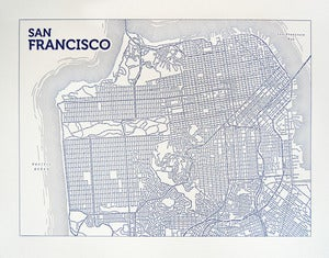 Image of San Francisco (Blue)