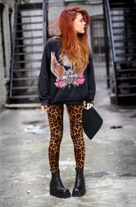 Image of Evil Twin Leopard Pants