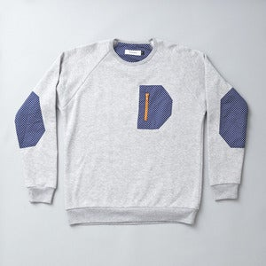 Image of FREEBASE SWEATER - GREY MARLE