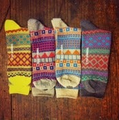 Image of Patterned Socks
