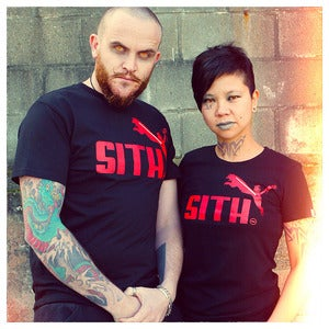 "Image of ""Brand Wars: Sith"" - Black tee"