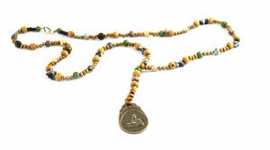 Image of Beaded Buddha Necklace