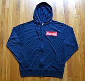 Image of Red Bar Patch Zip Up
