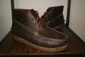 Image of Visvim Canoe Moc Mid Folk 10