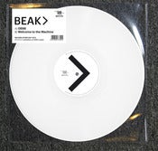 "Image of BEAK> welcome to the machine / 0898. 180g WHITE VINYL 10"" (RSD release)"