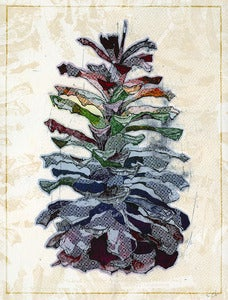 Image of &quot;Pinecone&quot; Art Print