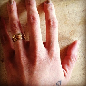 Image of our signature stacking rings