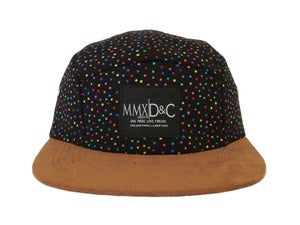 Image of  5 PANEL Hat + Polka Dot MBDCR|Divide &amp; Conquer 