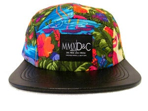 Image of  5 PANEL HAT + Flamingo George MBDCR|D&amp;C 
