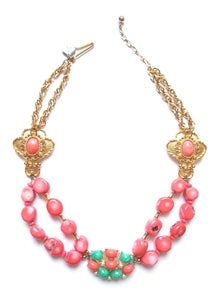 Image of Coral Me This Necklace