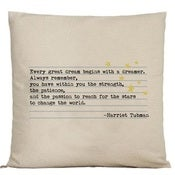 Image of Quote pillows - star