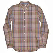 Image of Madras Plaid LS Steven Shirt