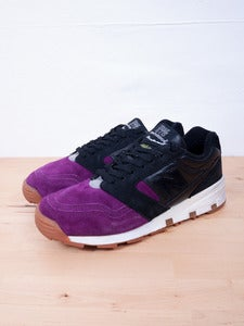 Image of New Balance - Solebox 575BPW  Purple Devil Sneakers