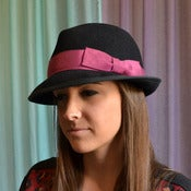 Image of BLACK FEDORA ($245)