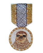 Image of Sloth Badge  TEMPORARILY OUT OF STOCK