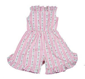 Image of pink playsuit size 10 to 12 years