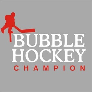 Image of Bubble Hockey Champion shirt