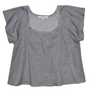 Image of Stripe Twill Mazzy Top
