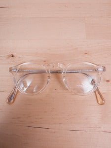 Image of Oliver Peoples - Gregory Peck Buff Eyeglasses