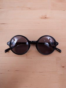Image of Number (N)ine -  Black Round Sunglasses