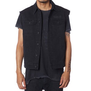Image of CUT OFF HELL JACKET | BLACK