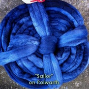 Image of &quot;Sailor&quot; wool-wheel