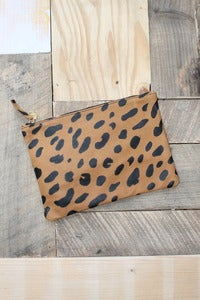 Image of Clare Vivier  Flat Clutch Jaguar