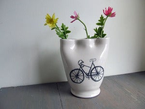 Image of Bicycle Finger Vase