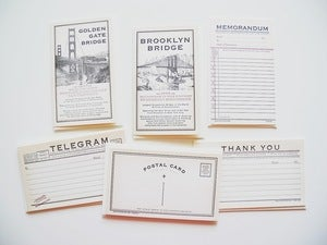 Image of Letterpress Cards by Oblation Paper 