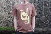 Image of T-shirt 'Phil Morgan' design (Brown)