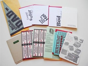 Image of Letterpress Cards by A. Favorite