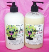 Image of Tangles and Beyond Moisture Soak Shampoo and Conditioner Now Available in 16 oz Sizes!