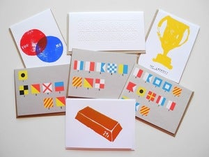 Image of Greeting cards by Yellow Owl Workshop