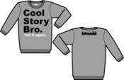 Image of Cool Story Bro Crewnecks