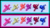 Image of ✖Cross ColorFul Spike✖ Rings